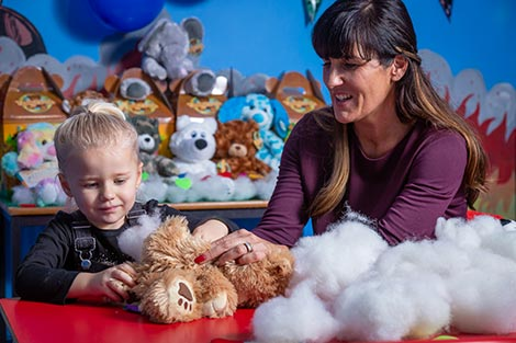 Build Your Bear Party<br/><span>£17.50 Per Child <br id=